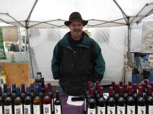 Wilridge wine at Ballard Sunday Market